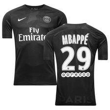 paris saint-germain 3. trøje 2017/18 mbappé 29 børn - fodboldtrøjer