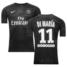 paris saint-germain 3. trøje 2017/18 di maría 11 - fodboldtrøjer