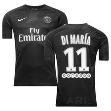 paris saint-germain 3. trøje 2017/18 di maría 11 børn - fodboldtrøjer