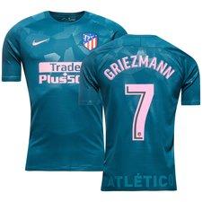 atletico madrid 3. trøje 2017/18 griezmann 7 - fodboldtrøjer