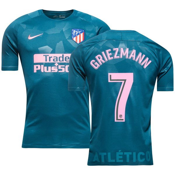 the best attitude 2541a 4eae1 Atletico Madrid Third Shirt 2017/18 GRIEZMANN 7 | www ...