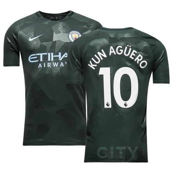 manchester city third shirt 201718 kun ag220ero 10 www