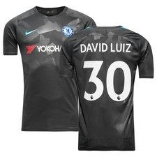 chelsea third shirt 2017/18 david luiz 30 - football shirts