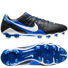 nike hypervenom phantom 3 gx fg - zwart/wit/blauw limited edition - voetbalschoenen