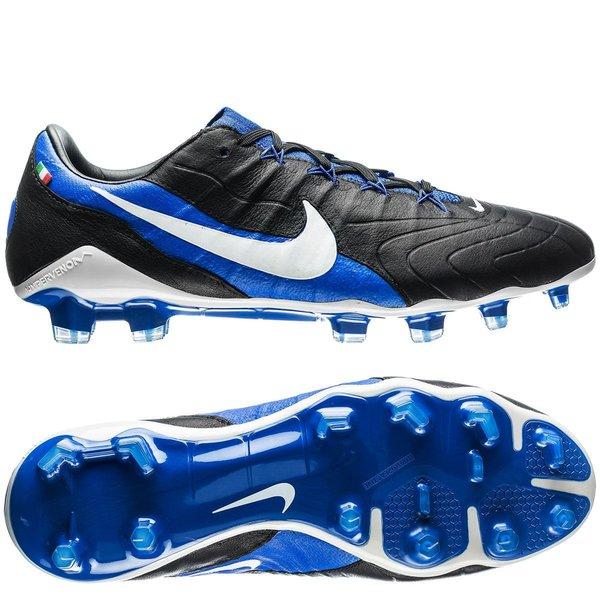 nike hypervenom phantom 3 gx fg - noir/blanc/bleu édition limitée - chaussures de football