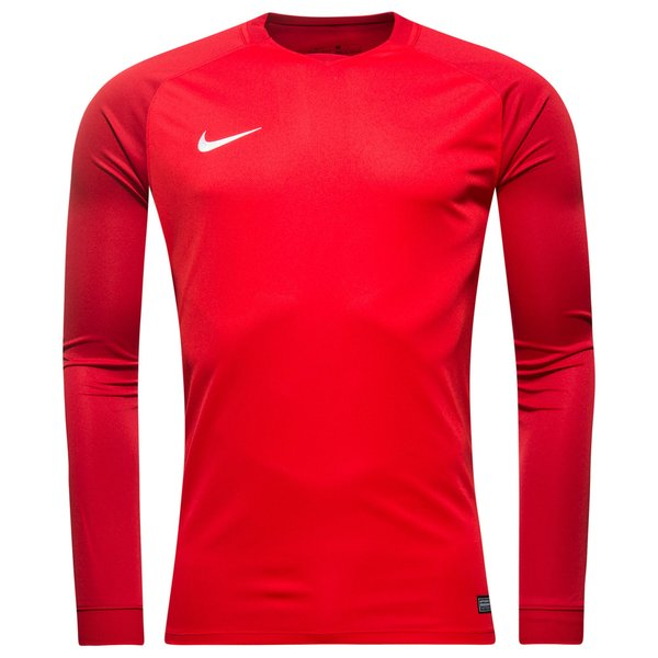 Nike Maillot Trophy III Manches Longues Rouge
