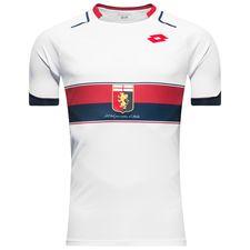 Genoa udebanetrøje, som den italienske klub skal bruge i sæsonen 2017/18.