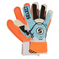 select goalkeeper gloves 88 sky blue/orange/black kids - goalkeeper gloves