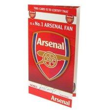 Arsenal - Födelsedagskort NO. 1