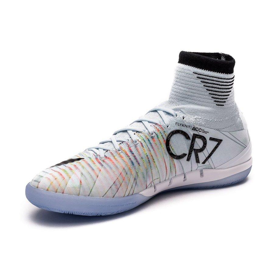 179d8c1b55c Nike MercurialX Proximo II DF CR7 Chapter 5  Cut to brilliance IC - Blue  Tint Black White Kids