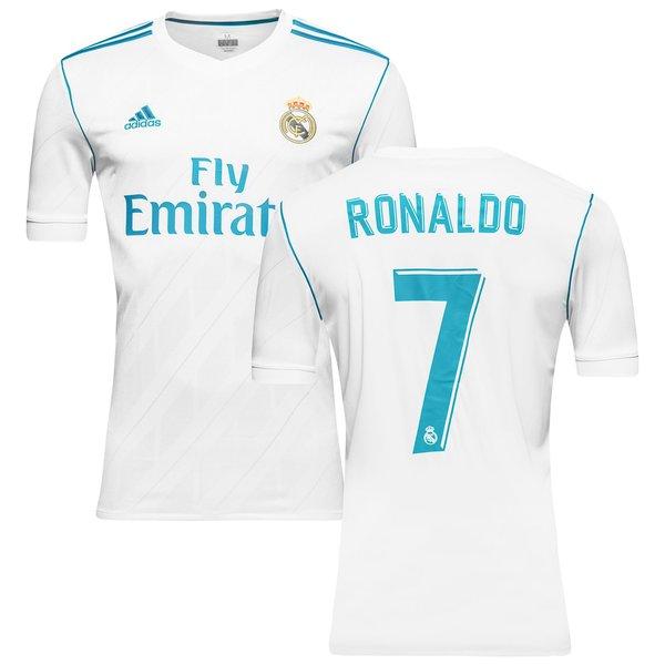 real madrid hjemmebanetrøje 2017/18 ronaldo 7 - fodboldtrøjer