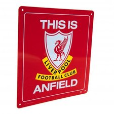 Liverpool - Skylt This Is Anfield