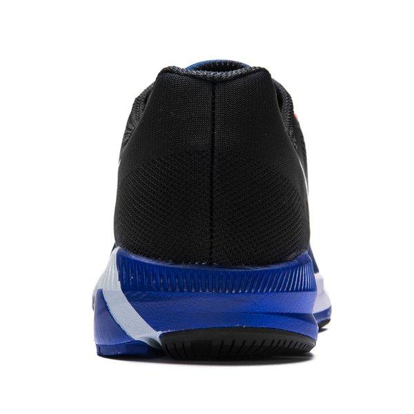 3bf056e22ba8d Nike Running Shoe Air Zoom Structure 21 - Deep Royal Blue Metallic Silver  Black