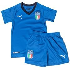 italien hjemmebanetrøje 2017/18 mini-kit børn - fodboldtrøjer