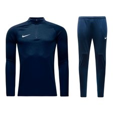 nike squad 17 kit - navy/white kids - track suits
