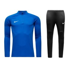 nike squad 17 kit - blue/black kids - track suits