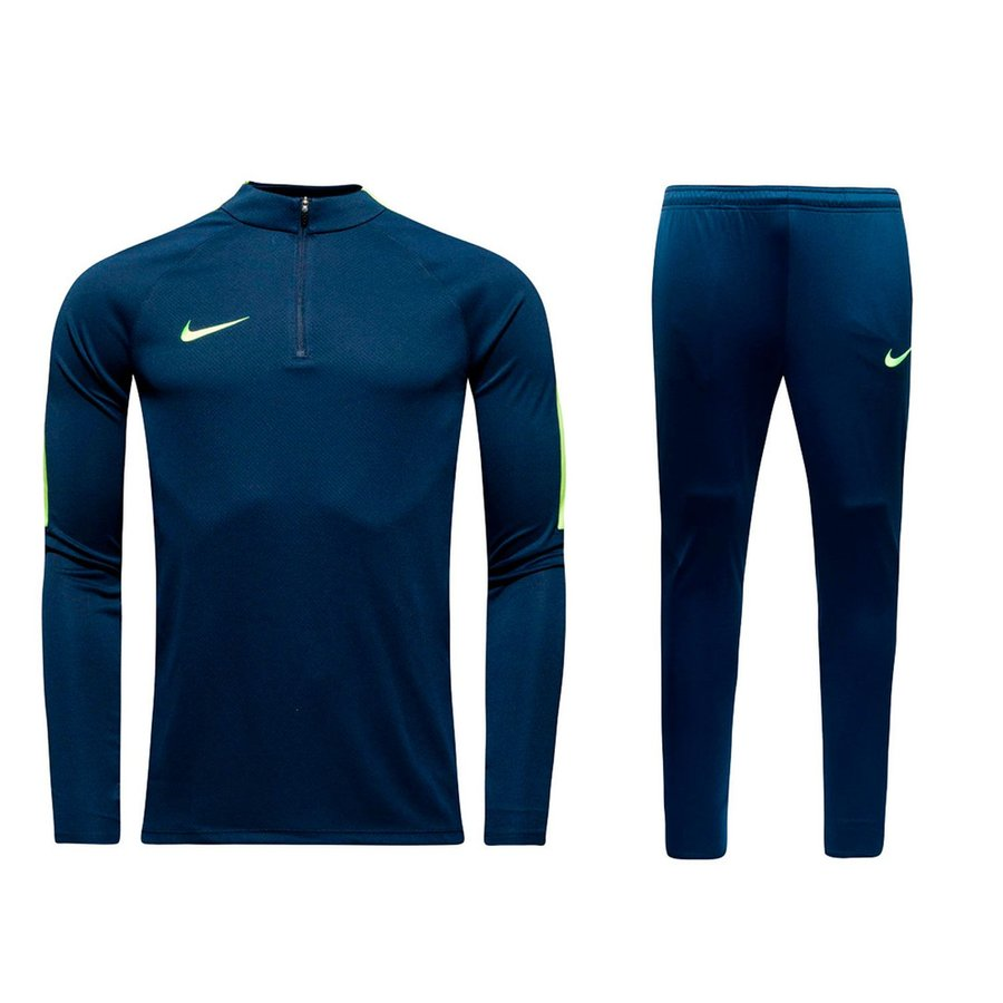 Nike Squad 17 Ensemble Bleu MarineJaune Fluo   www