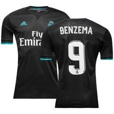 Real Madrid Udebanetrøje BENZEMA 9