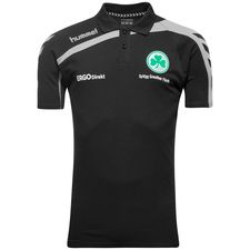 Image of   Greuther Fürth Polo T-2 - Sort/Grå