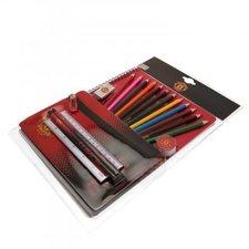 manchester united ultimate skolesæt - sort/rød - merchandise