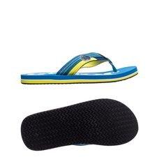 joma slide trento 704 - blue/yellow - sandals