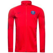 paris saint-germain track top nsw authentic - rød/navy - træningsjakke