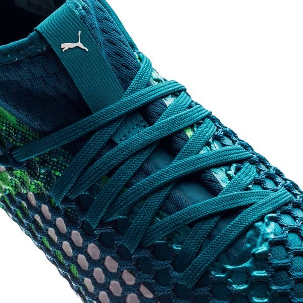 Future Pumas Netfit 18,2 Fg / Ag Pack Frénésie - Bleu / Vert