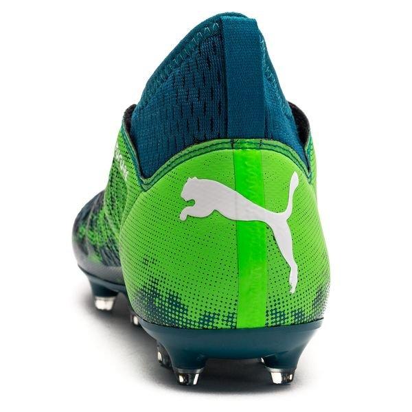 Futur Pack Pumas 18,3 Frénésie Fg / Ag - Enfants Bleu / Vert