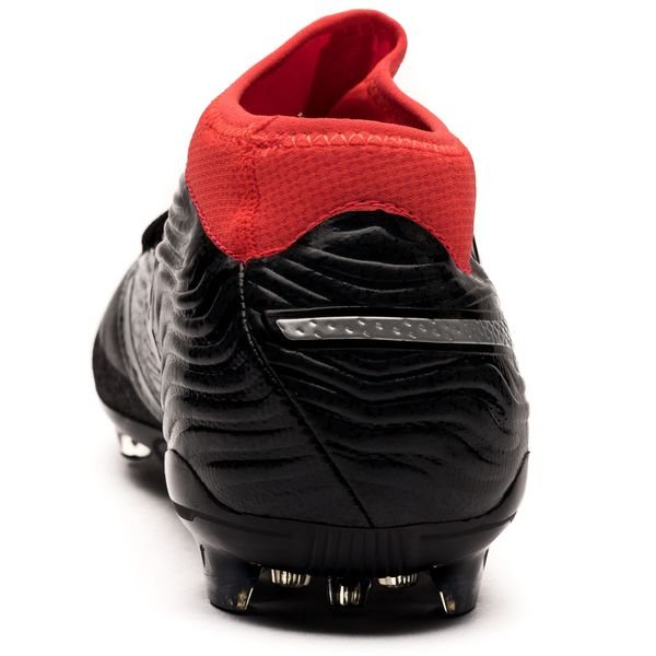 ... puma one 18.2 ag - black red - football boots ... 4f5316190