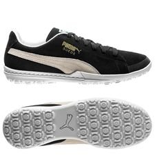 puma future suede 50 tf - black/white - football boots