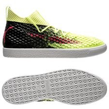 puma future 18.1 netfit clyde - yellow - sneakers