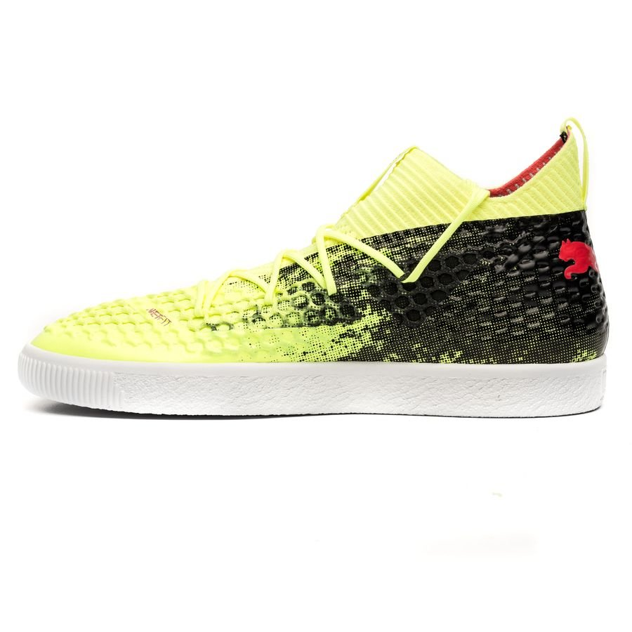 d549f23c3db puma future 18.1 netfit clyde - yellow - sneakers