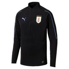 uruguay training shirt 1/4 zip - black - training tops