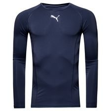 puma baselayer liga l/æ - navy - baselayer
