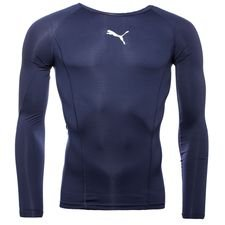 puma baselayer liga l/s - peacoat kids - baselayer