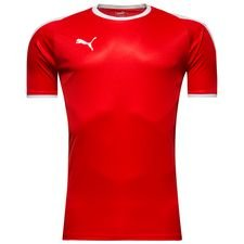 puma playershirt liga - red/white - football shirts