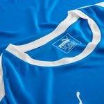 puma spilletrøje liga - blå/hvid - fodboldtrøjer