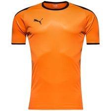 puma spilletrøje liga - orange/sort - fodboldtrøjer