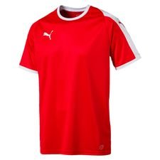 puma playershirt liga - red/white kids - football shirts