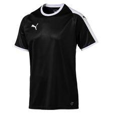 puma spilletrøje liga - sort/hvid børn - fodboldtrøjer