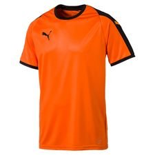 puma spilletrøje liga - orange/sort børn - fodboldtrøjer