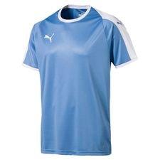 puma playershirt liga - silver lake blue/white kids - football shirts