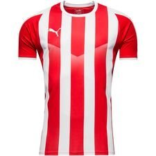 puma maillot liga striped - rouge/blanc enfant - maillots de football