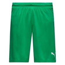 puma shorts liga med indershorts - grøn - træningsshorts
