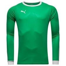 puma målmandstrøje liga - grøn/hvid - fodboldtrøjer