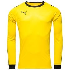 puma goalkeeper shirt liga - cyber yellow/black - football shirts