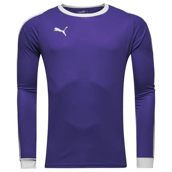 puma målmandstrøje liga - lilla/hvid - fodboldtrøjer