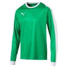 puma målmandstrøje liga - grøn/hvid børn - fodboldtrøjer