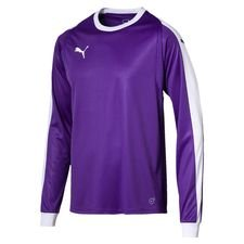 puma goalkeeper shirt liga - prism violet/white kids - football shirts