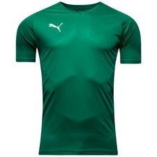 puma spilletrøje liga core - grøn - fodboldtrøjer